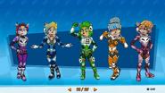 Sci-Fi Nitro Squad Concept Art