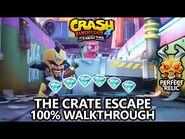 Crash Bandicoot 4 - 100% Walkthrough - The Crate Escape - All Gems Perfect Relic