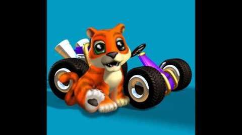 CTR Pura voice taunts quotes lines Crash Team Racing