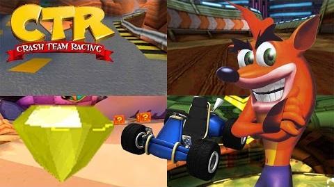 Crash Team Racing - Yellow Gem Cup