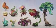 Skylanders plants concept