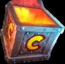 OTR iron crate inferno mug