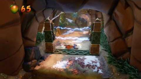 Crash Bandicoot 2 Walkthrough - Warp Room 2 Crash Crush