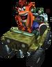 Crash Bandicoot Jeep Crash Bandicoot The Wrath of Cortex