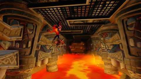 Crash Bandicoot 2 Walkthrough - Warp Room 4 Hangin' Out