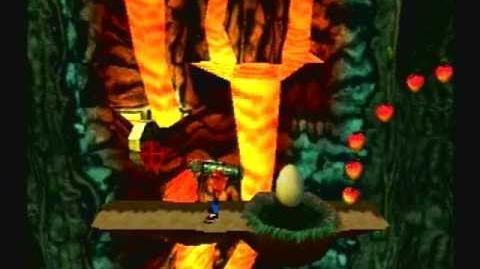 Crash Bandicoot 3 Warped - Level 32 Eggipus Rex (Gem Platinum Relic Get)