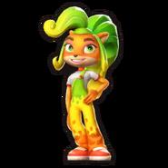 Costume coco wumpa