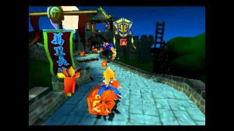 Midnight Run - Clear Gem - Crash Bandicoot 3 Warped - 105% Playthrough (Part 8)