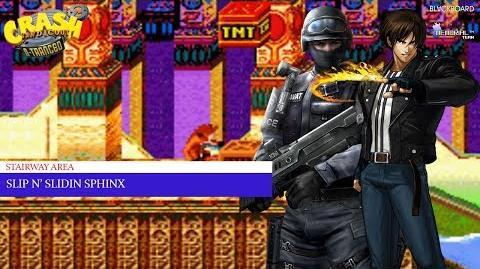 Crash Bandicoot 2 N-Tranced - 101% & All Platinums, Part 18 Slip N Slidin' Sphinx