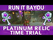 Crash Bandicoot 4 - Run It Bayou - Platinum Time Trial Relic (1-34
