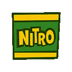Nitro crate sticker