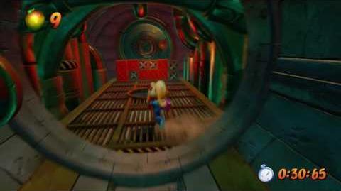 Crash Bandicoot 2 - The Eel Deal Platinum Relic