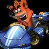 Crash Nitro Kart Crash Bandicoot Promo In-Kart