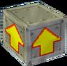 Crash Bandicoot 2 Cortex Strikes Back Iron Arrow Crate.png