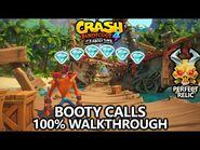 Crash Bandicoot 4 - 100% Walkthrough - Booty Calls - All Gems Perfect Relic