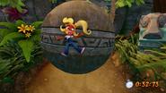 Boulders Crash Bandicoot N. Sane Trilogy