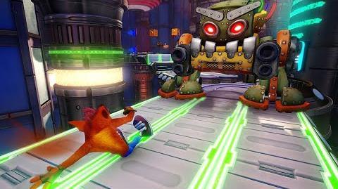 Crash Bandicoot Gameplay From the Brand New Level - E3 2018