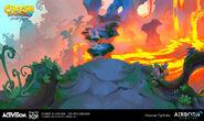IAT blast to the past lava hop concept