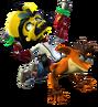 Crash Bandicoot Doctor Neo Cortex Crash Twinsanity