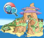N sanity island concept