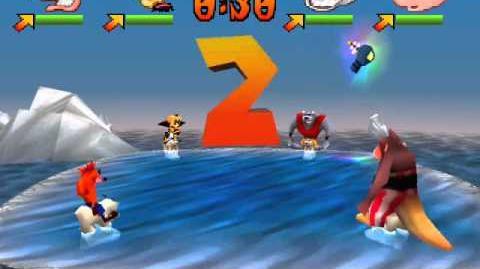 Crash Bash - 15 - Tilt Panic - Gem Challenge