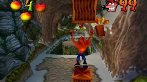 DM's Guide Crash Bandicoot 2 - Diggin' it (2 Clear Gems Skull Route All Boxes)-0