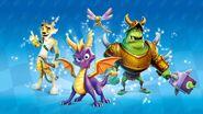 Spyro Friends Characters