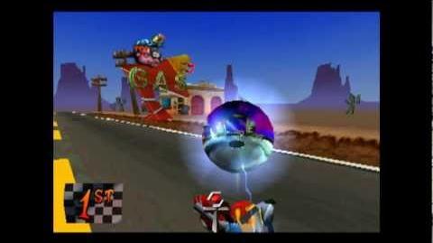 Hog Ride - Platinum Relic - Crash Bandicoot 3 Warped - 105% Playthrough (Part 36)