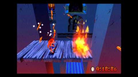 Flaming Passion - Platinum Relic - Crash Bandicoot 3 Warped - 105% Playthrough (Part 56)