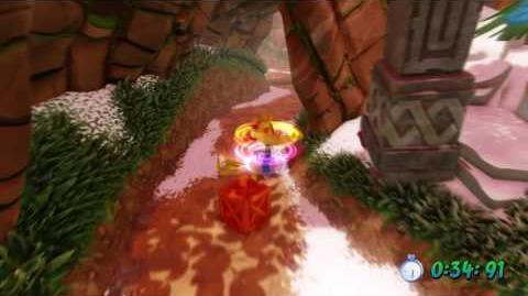 Crash Bandicoot 2 - Diggin' It Platinum Relic