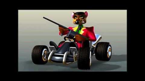 CTR Pinstripe Potoroo voice taunts quotes lines Crash Team Racing