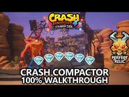 Crash Bandicoot 4 - 100% Walkthrough - Crash Compactor - All Gems Perfect Relic