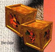 Crash and Aku Crates