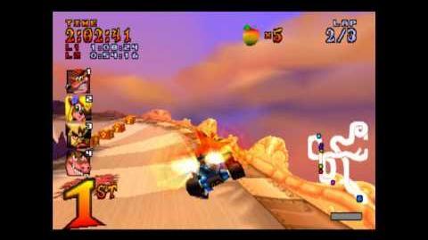 Hot Air Skyway - Trophy Race - Crash Team Racing - 101% Playthrough (Part 18)