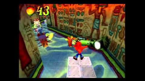 Tomb Wader (Getting the Blue Gem) - Crash Bandicoot 3 105% Walkthrough