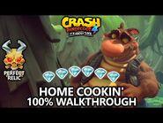 Crash Bandicoot 4 - 100% Walkthrough - Home Cookin' - All Gems Perfect Relic