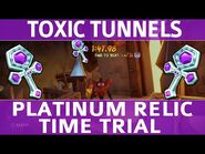 Crash Bandicoot 4 - Toxic Tunnels - Platinum Time Trial Relic (1-47