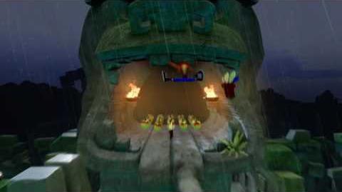 Ruination GREEN GEM path - Crash 2 PS4 - Gem Guide
