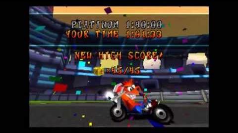 Slide Coliseum - Platinum Relic - Crash Team Racing - 101% Playthrough (Part 63)