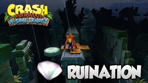 "Crash Bandicoot 2 - ""Ruination"" 1st Gem and All Boxes (PS4 N Sane Trilogy)"