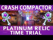 Crash Bandicoot 4 - Crash Compactor - Platinum Time Trial Relic (0-38