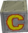 Crash Bandicoot 3 Warped Iron Check Point Crate.png