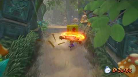 PLATINUM RELIC CRASH BANDICOOT N SANE TRILOGY Crash 2 - Turtle Woods