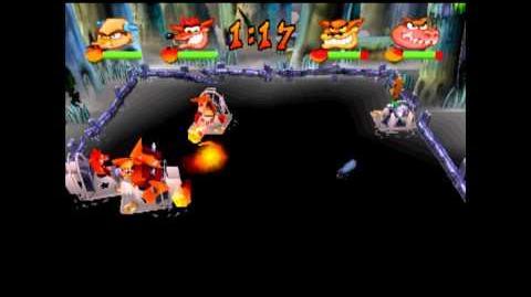 Swamp Fox - Crystal - Crash Bash - 200% Playthrough (Part 76)