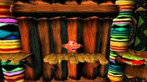 Crash Bandicoot Japanese Version 100% Part 4 - The Great Gate 1 2 - Trinitrotoluene