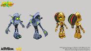 OTR robot skins concept