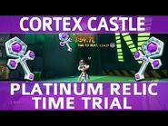 Crash Bandicoot 4 - Cortex Castle - Platinum Time Trial Relic (1-54