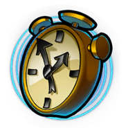 Crash Team Racing Nitro-Fueled N. Tropy Clock.