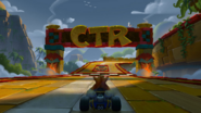 Papu's Pyramid Crash Team Racing Nitro-Fueled Concept Art