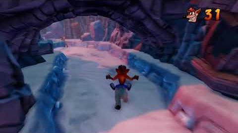 Crash Bandicoot 2 Walkthrough - Warp Room 3 Bear Down